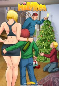 Incest at Christmas with my busty mother (1)